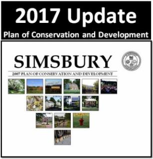 2017 Update to the Simsbury Plan of Conservation and Development
